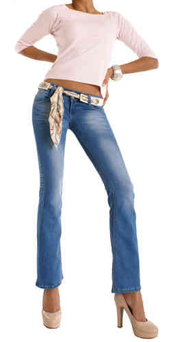Bootcut Low Jeans